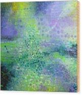 Permanent Green Wood Print by Lolita Bronzini