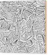 Perplex Wood Print