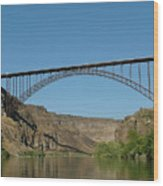 Perrine Bridge Wood Print