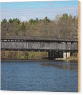 Perrine's Bridge In Spring #2 Wood Print