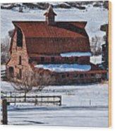 Perry Park Barn Wood Print
