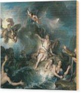 Perseus Rescuing Andromeda Wood Print