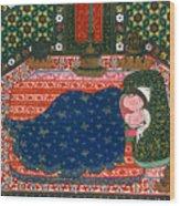 Persia: Lovers, 1527-28 Wood Print