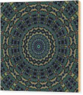 Persian Carpet Wood Print