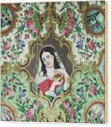 Persian Lady Wood Print