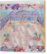 Persian Palace Wood Print