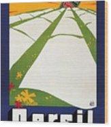 Persil - Statt Sonne - Vintage Advertising Poster For Detergent Wood Print