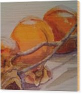 Persimmons Wood Print