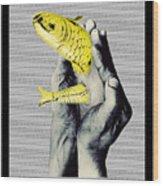 Personal Goldfish Wood Print