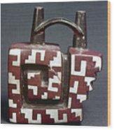 Peru: Pre-columbian Vessel Wood Print