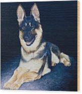 Pet Commission-shaka Wood Print