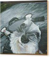 Pet Portrait Wood Print