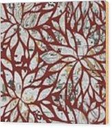 Petales - 03rd Wood Print