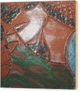 Petals - Tile Wood Print