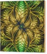 Petals Of Life Wood Print