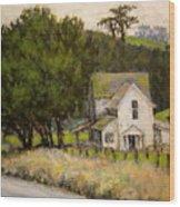 Petaluma Farmhouse Wood Print