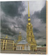 Peter And Paul Fortress Wood Print