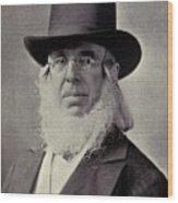 Peter Cooper 1791-1883 Built The Tom Wood Print by Everett