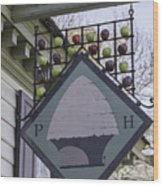 Peter Hay Kitchen Sign Wood Print
