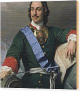 Peter I The Great Wood Print