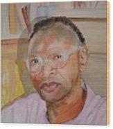 Peter Luwaminda Zambia Wood Print