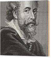 Peter Paul Rubens, 1577-1640. Flemish Wood Print