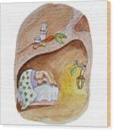 Peter Rabbit  Wood Print