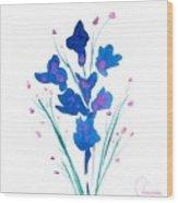 Petit Bouquet Wood Print