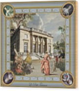Petit Trianon Medallions Wood Print