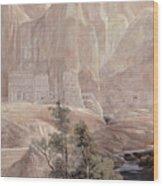 Petra Wood Print