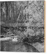 Petrifying Springs Park Bridge  Wood Print