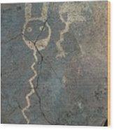 Petroglyph Series 1 Wood Print