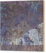 Petroglyphs 4 Wood Print