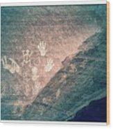Petroglyphs  Wood Print