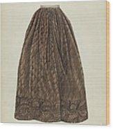 Petticoat Wood Print