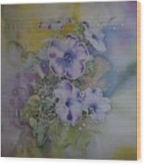 Petunias Wood Print