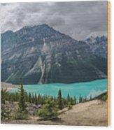 Peyto Lake Banff Wood Print