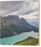 Peyto Lake - Banff National Park, Canada Wood Print