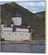 Pfalz Castle Wood Print