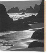 Pfeiffer Beach Sp 8192 Wood Print
