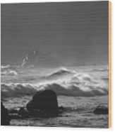 Pfeiffer Beach Sp 8245 Wood Print