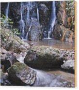 Pha Sua Waterfall Wood Print