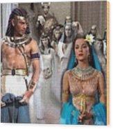 Pharaoh Of Egypt Exodus 2 Wood Print