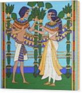 Pharaoh Wood Print