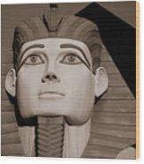 Pharaohs And Pyramids Wood Print