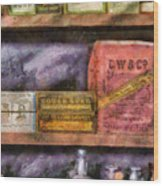 Pharmacist - Assorted Cures Wood Print