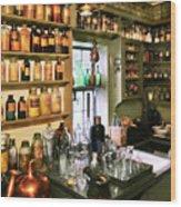Pharmacist - Pharmacists Drugs Wood Print by Mike Savad