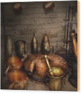 Pharmacy - Alchemist's Kitchen Wood Print