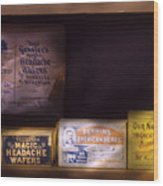 Pharmacy - Medicine - Blood Purifiers  Wood Print