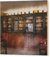 Pharmacy - The Apothecary Shop Wood Print